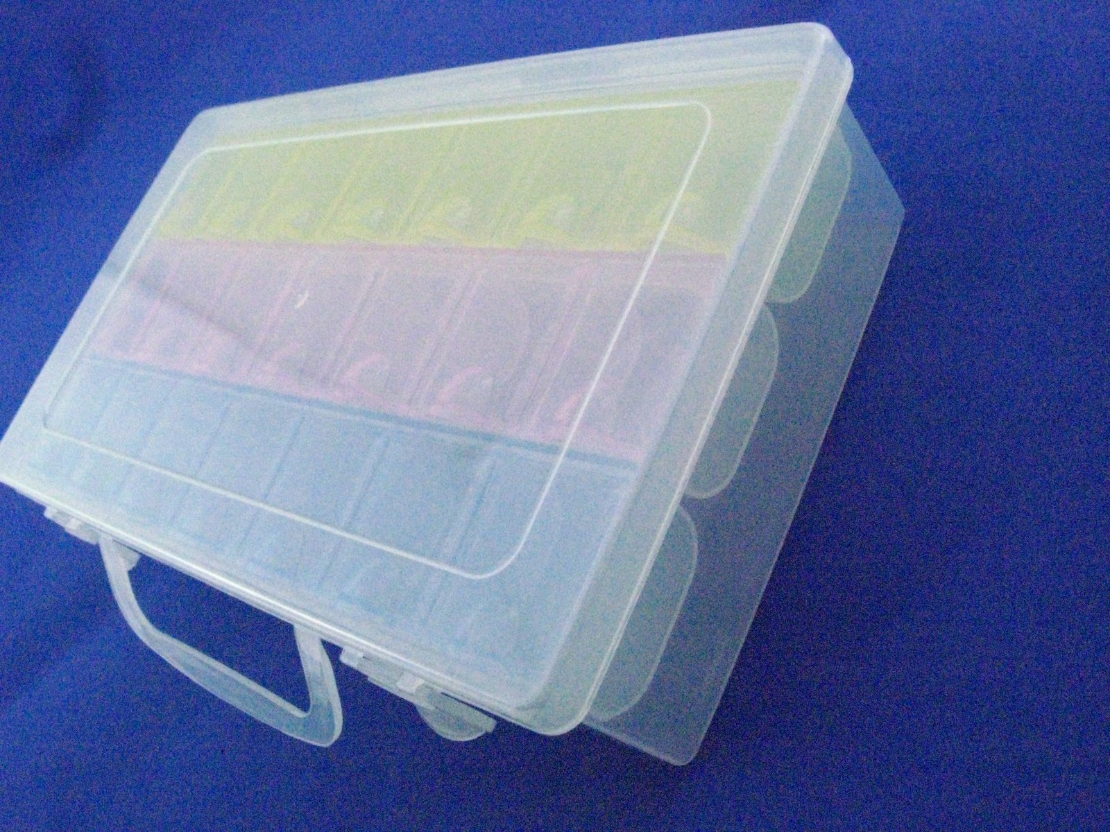2pcs/lot,Electronic Components Storage Box, 21 lattice/blocks, Large-space,Component Parts Box,22.5*13*5.4cm