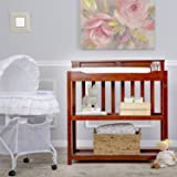 Dream On Me Zoey 3 in 1 Convertible Changing Table, Espresso
