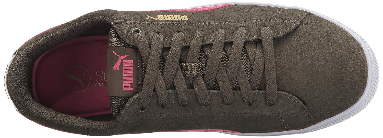 Puma Damen Vikky Platform Sneakers Sneakers Platform Olive Night-rapture Rose f3c7ff