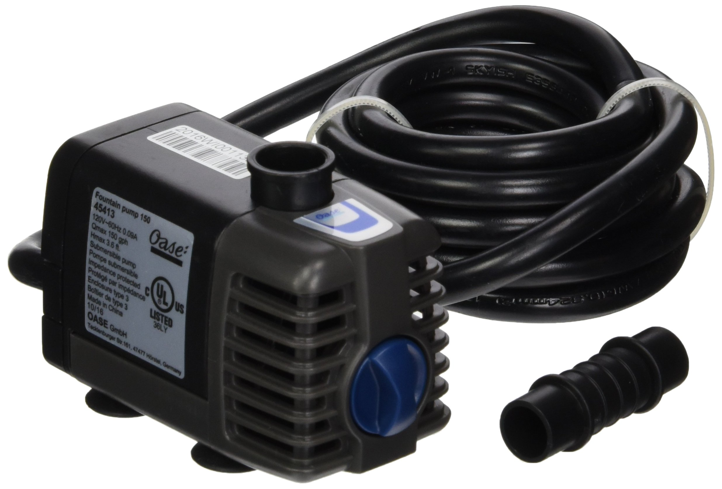OASE 45413 150 gallon/hr Fountain Pump
