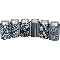 Beer Can Sleeve – Pack of 6 Drink Can Sleeves – Premium Insulating Beer Wraps – 12 oz Beer Sleeve Covers – Foam Can…