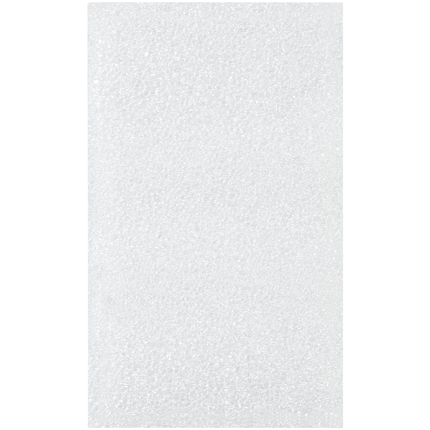 Boxes Fast BFFP35 Flush Cut Foam Pouches White Pack of 500 3 x 5