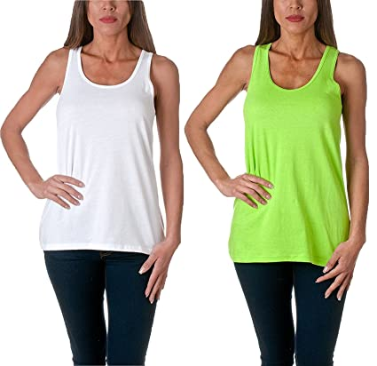 Amazon.com: Sofra Women's Loose Fit Tank Top Relaxed Flowy: Clothing