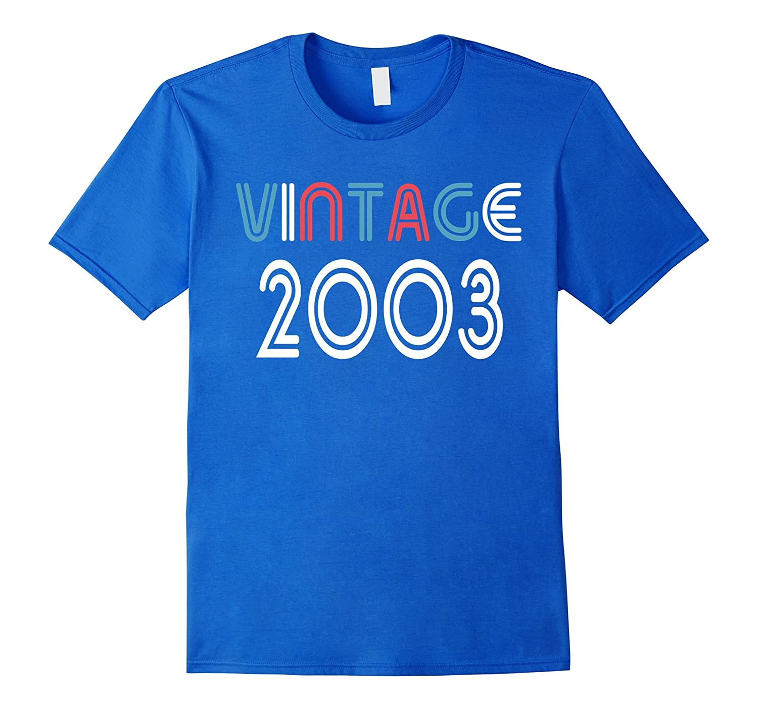 Vintage 2003 Shirt Funny 14 Years Old 14th Birthday Gift ANZ