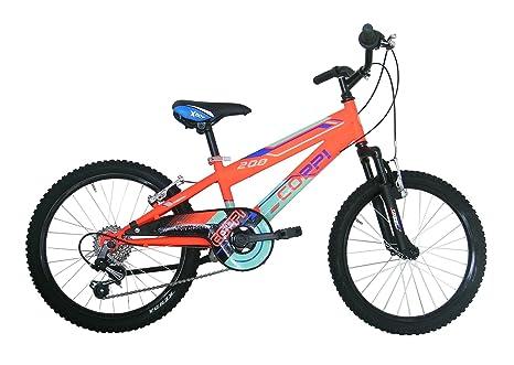 Coppi Rm2u20206ba27ar Bicicletta Btt Per Bambino Ragazzo Arancione Dimensione 20 Pollici
