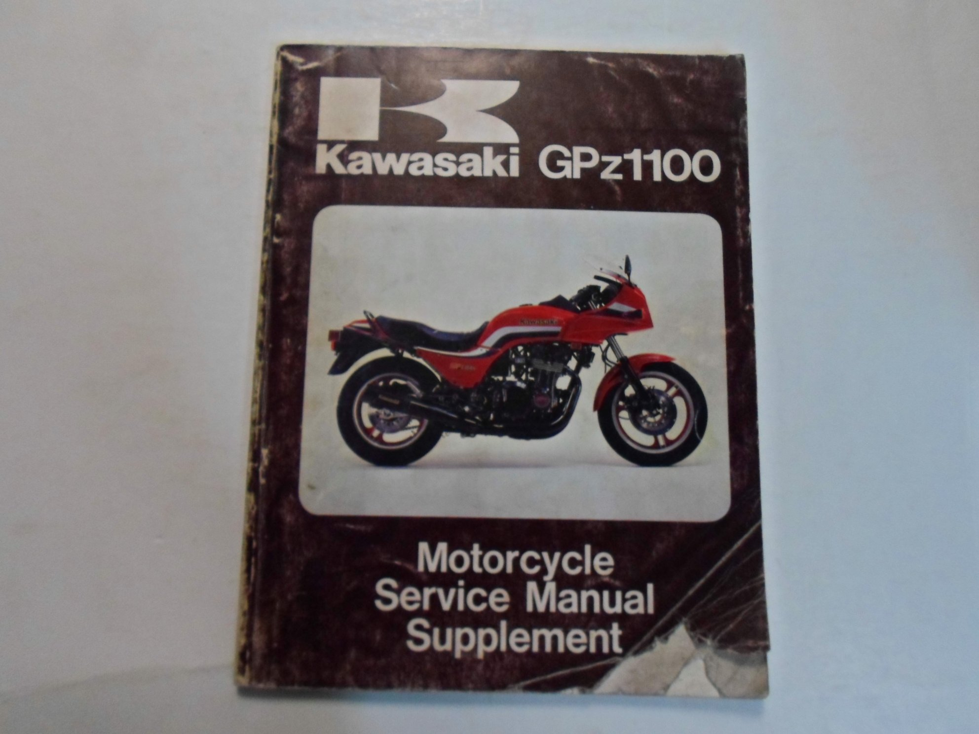 Kawasaki Gpz1100 Repair And Service Manual Gpz 750 Wiring Diagram 1983 Motorcycle Supplement Faded Rh Amazon Com H2r 1100 Turbo