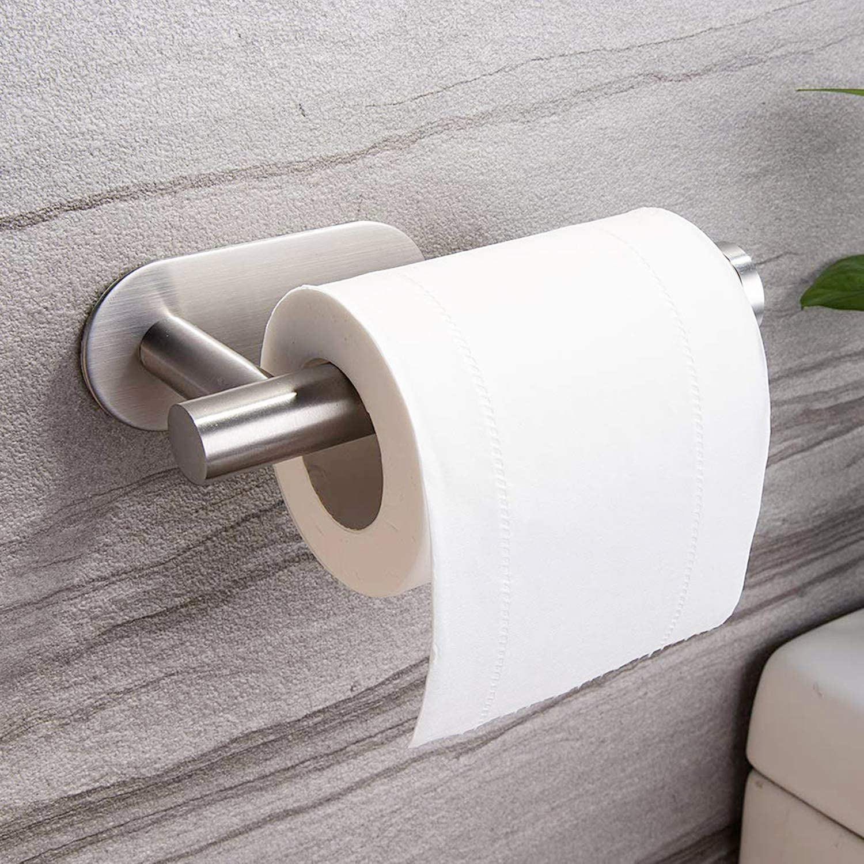 ZUNTO Portarrollos Baño Acero Inoxidable - Portarrollo para Papel Higiénico Autoadhesivo Para Baños
