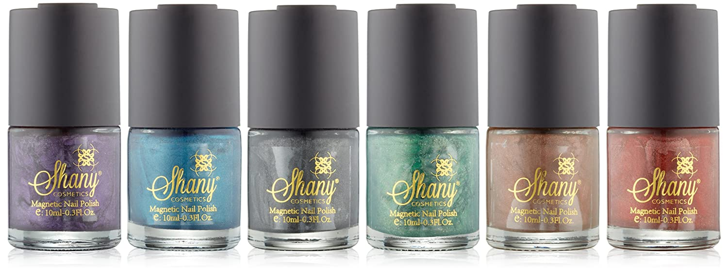 Amazon.com : SHANY Cosmetics Magnetic Nail Polish, Heavenly Colors ...