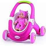 smoby 160176 jouet dveil minikiss baby walker