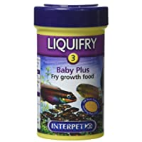 Interpet Liquifry Number 3 Baby Plus Fish Food for All Young Fish