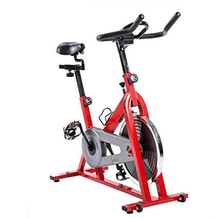 080aefcbacf Sunny Health & Fitness Chain Drive Indoor Cycle Bike with 30 lbs (13.6 kg)