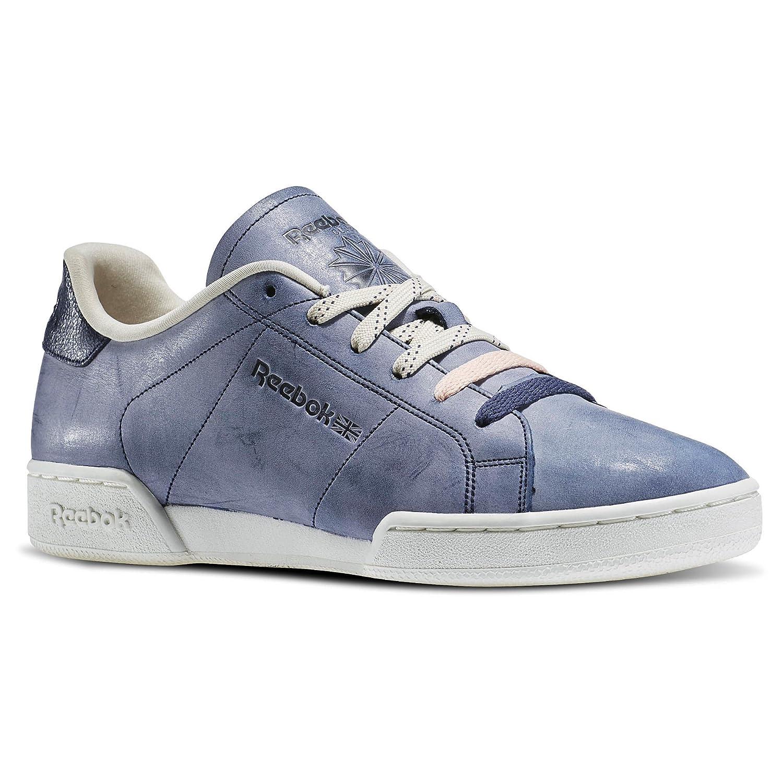 19f65098bbaf2 Reebok Npc Ii Ne Matte Shine Pack - Zapatillas de Piel para mujer Azul Blue  Ink Chalk Coral Glow Paperwhite  Amazon.es  Zapatos y complementos