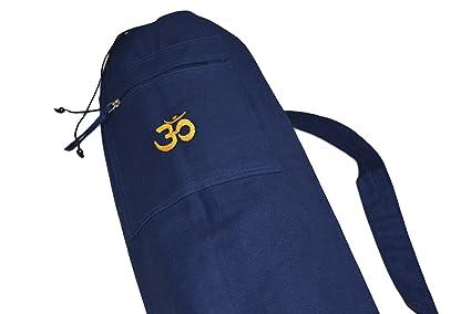 Esterilla de yoga funda - Chakras, OM Blau: Amazon.es ...