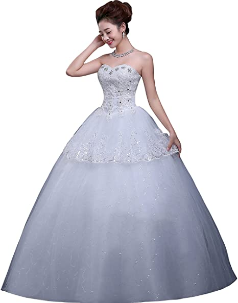 ce681b27439f Clover Bridal 2018 Sexy Luxury Sweetheart Beading Pearl Paillette ...