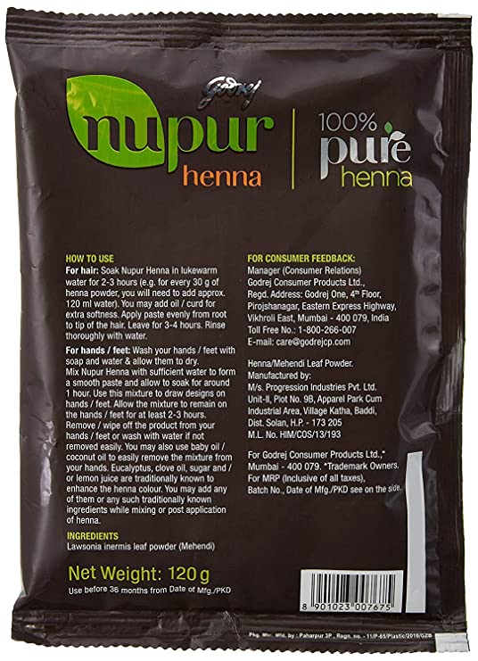 Buy Godrej Nupur Heena 120g Online At Low Prices In India Amazon In