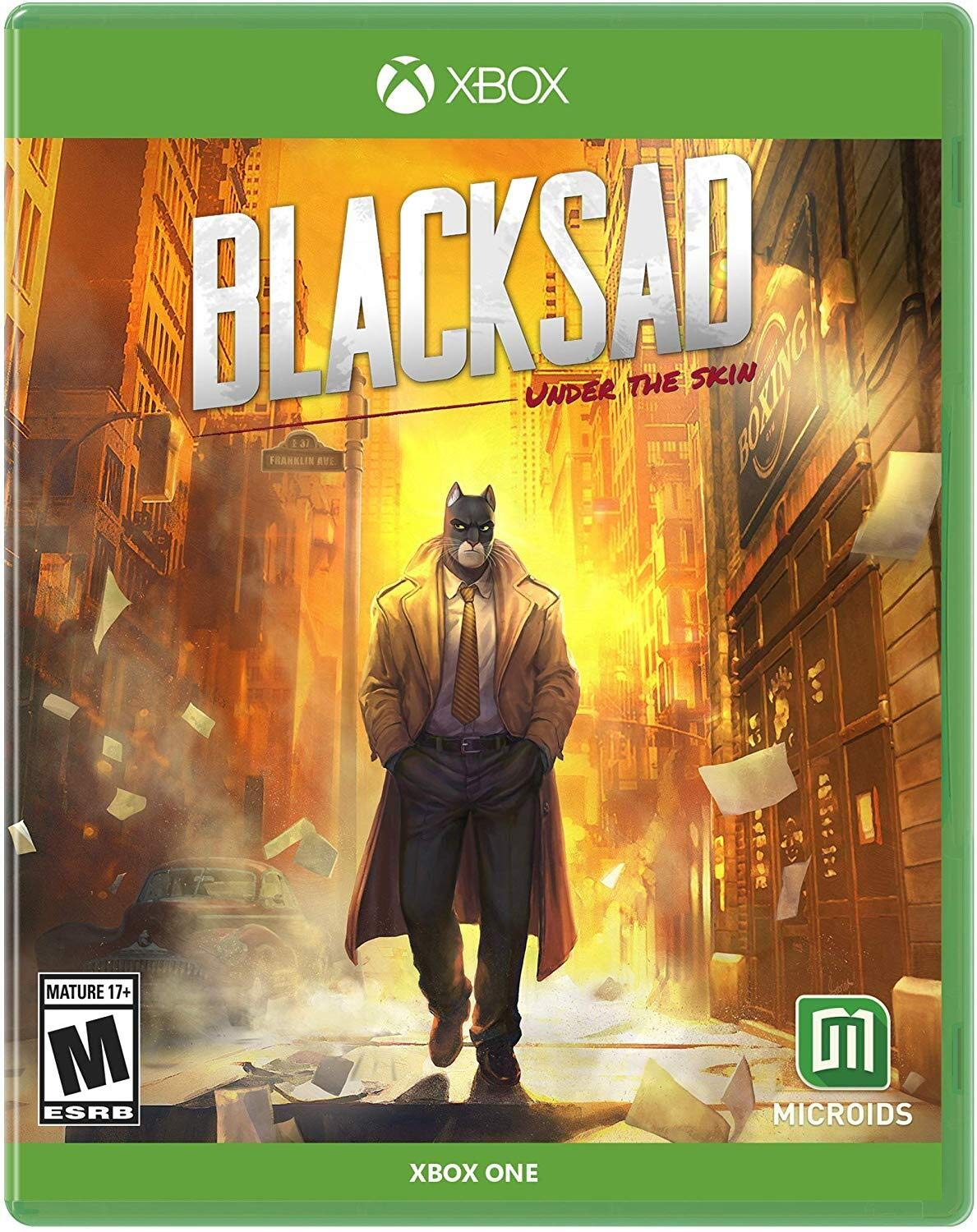 Blacksad: Under The Skin Limited Edition for Xbox One USA: Amazon ...