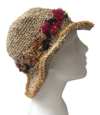 dcadda236ee New Hemp Floppy Bucket Hat Summer Hippy Boho Fair Trade Sun Handmade in  Nepal