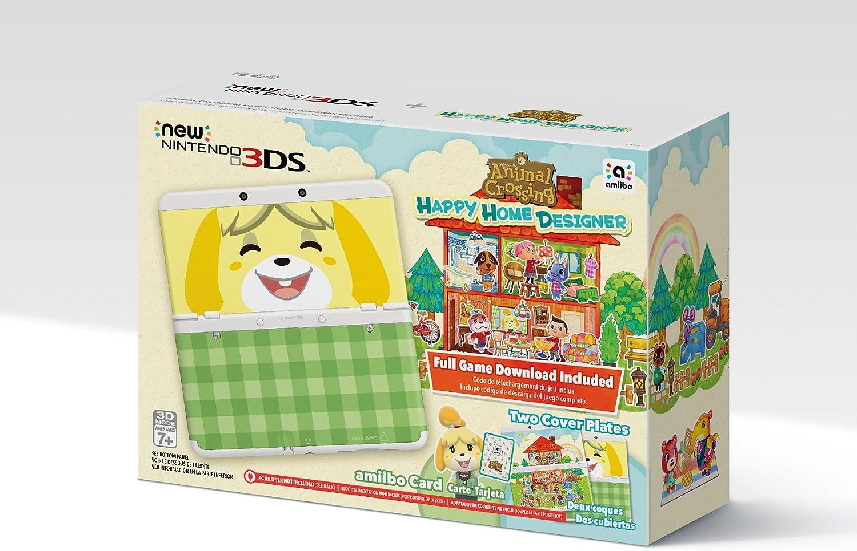 Amazon.com: Nintendo Animal Crossing: Happy Home Designer + ...