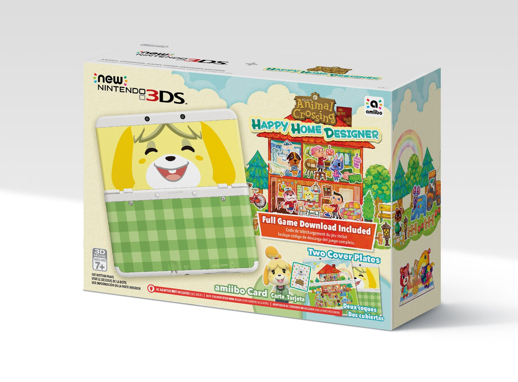 Nintendo Animal Crossing: Happy Home Designer + New 3DS Bundle by Nintendo (Image #1)