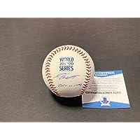 $149 » Gavin Lux Los Angeles Dodgers Autographed Signed Official Major League 2020 World Series Baseball Beckett COA 3 Home Runs