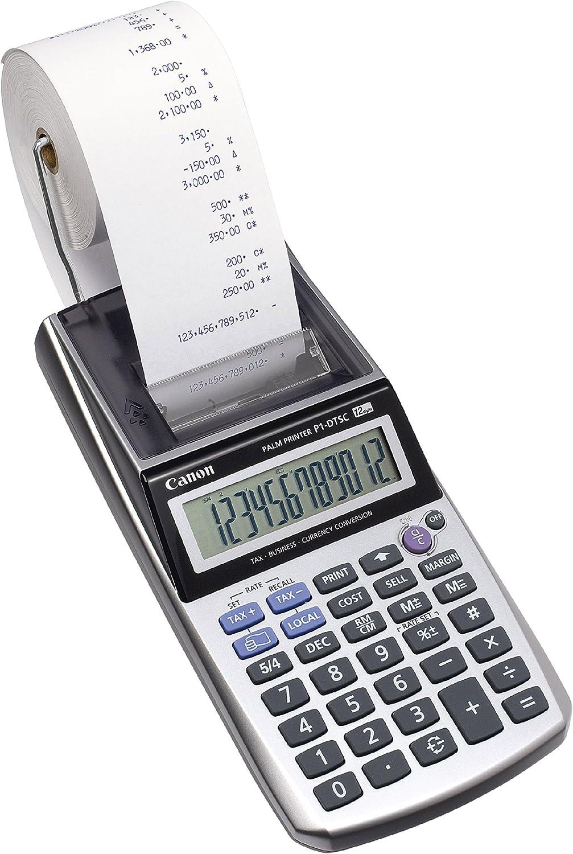 Canon 2494B001 - Calculadora con función de impresión: Canon ...