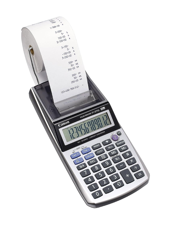 Canon 2494B001 Calcolatrice, Argento Metallizzato, Argento Metallizzato 2494B005AA Calcolatrici Calcolatriciscriventi