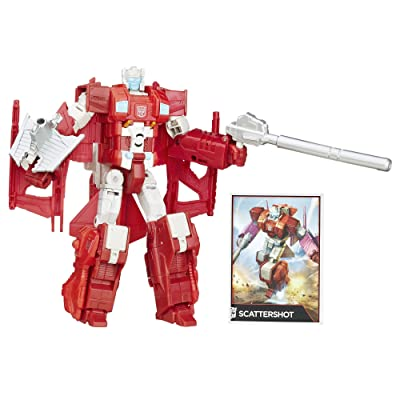 Transformers Generations Combiner Wars Voyager Class Scattershot Figure: Toys & Games