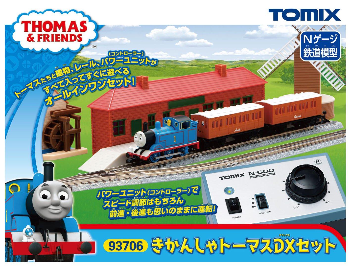 TOMIX Nゲージ きかんしゃトーマスDXセット 93706 鉄道模型 入門セット B01LWVA1MH