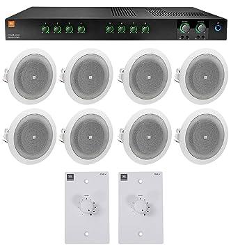 Amazon.com: JBL CSMA240 Amplificador comercial + (8 ...