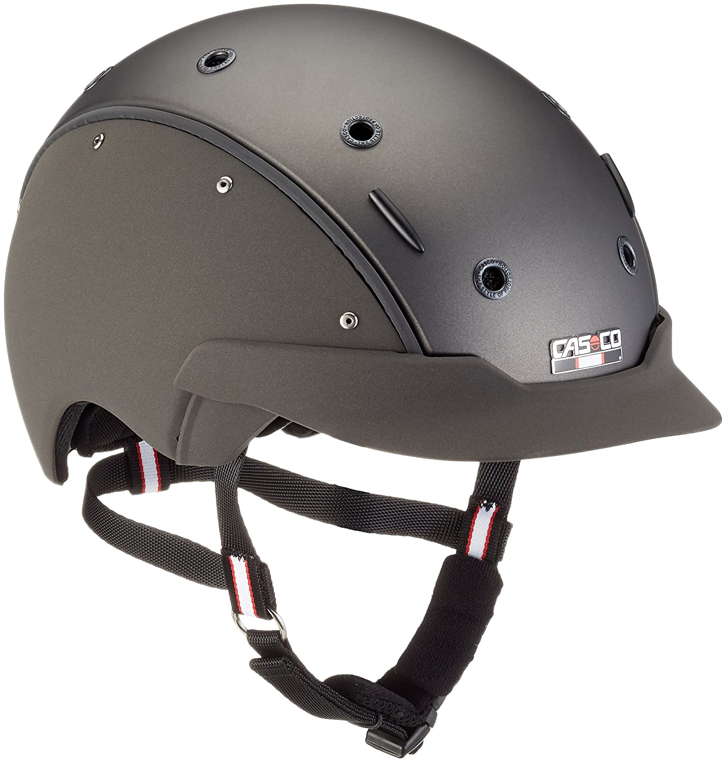 EKKIA(エキア) 乗馬用具 グレー CASCO CHAMP-6 STR.GREY S/54-56 912371001 912371001   B014JIXN4I