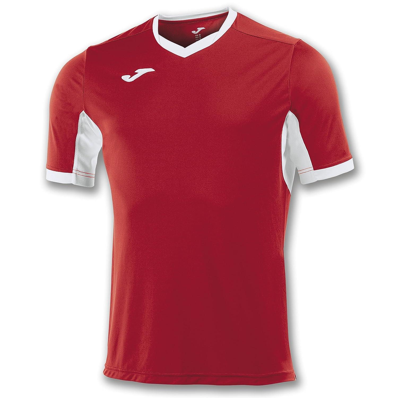 JomaチームウェアTシャツChampion IV Short Sleeves red-whiteユニフォームCamisetas B06XHST3ZT  ROSSO-BIANCO X-Large