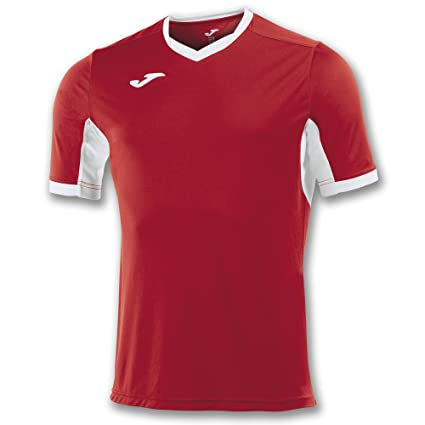 Joma Teamwear T-Shirt Champion IV Short Sleeves Red-White