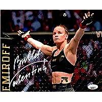 $42 » Valentina Shevchenko autographed signed inscribed 8x10 photo UFC Bullet PSA COA