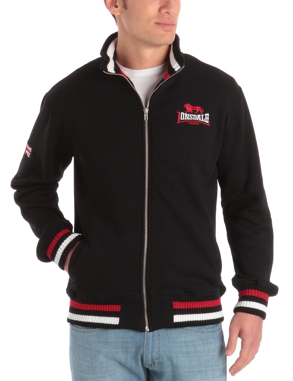 Lonsdale Herren Sweatshirt Sweatshirt Zip Dover