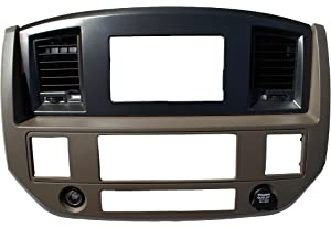 Amazon.com: Black Dodge Ram Radio Stereo Double Din Dash Install Kit on dodge engine wiring harness, dodge truck wire harness, dodge truck decal kits, dodge truck clutch kits, dodge truck exhaust kits, dodge ram wiring harness, dodge truck shifter knobs, dodge truck suspension kits,