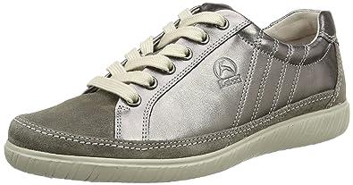 bc4e3eb34d82 Gabor Shoes Damen Comfort Sneakers, Grau (Argento Peltro 98), 36 EU