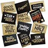 Wedding Photo Booth Double Sided Cards, Jumbo-Sized, 6-Pack