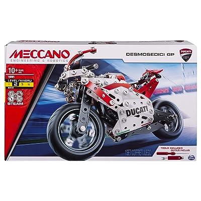 Meccano Ducati DESMOSEDICI Moto GP 17 Bike: Toys & Games