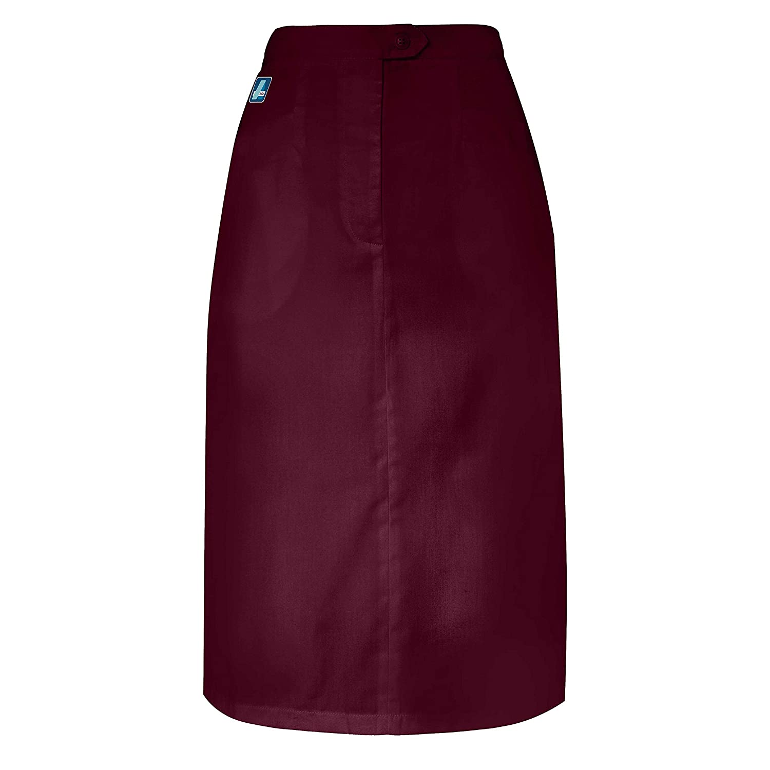 b7b7a01deee7 Adar Universal Mid-Calf Length Angle Pocket Skirt - 706 - BRG - 6 at Amazon  Women's Clothing store: