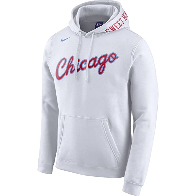 Nike NBA Chicago Bulls Michael Jordan 23 Zach LaVine 8 2017 2018 City Edition Official, Sudadera con Capucha: Amazon.es: Ropa y accesorios