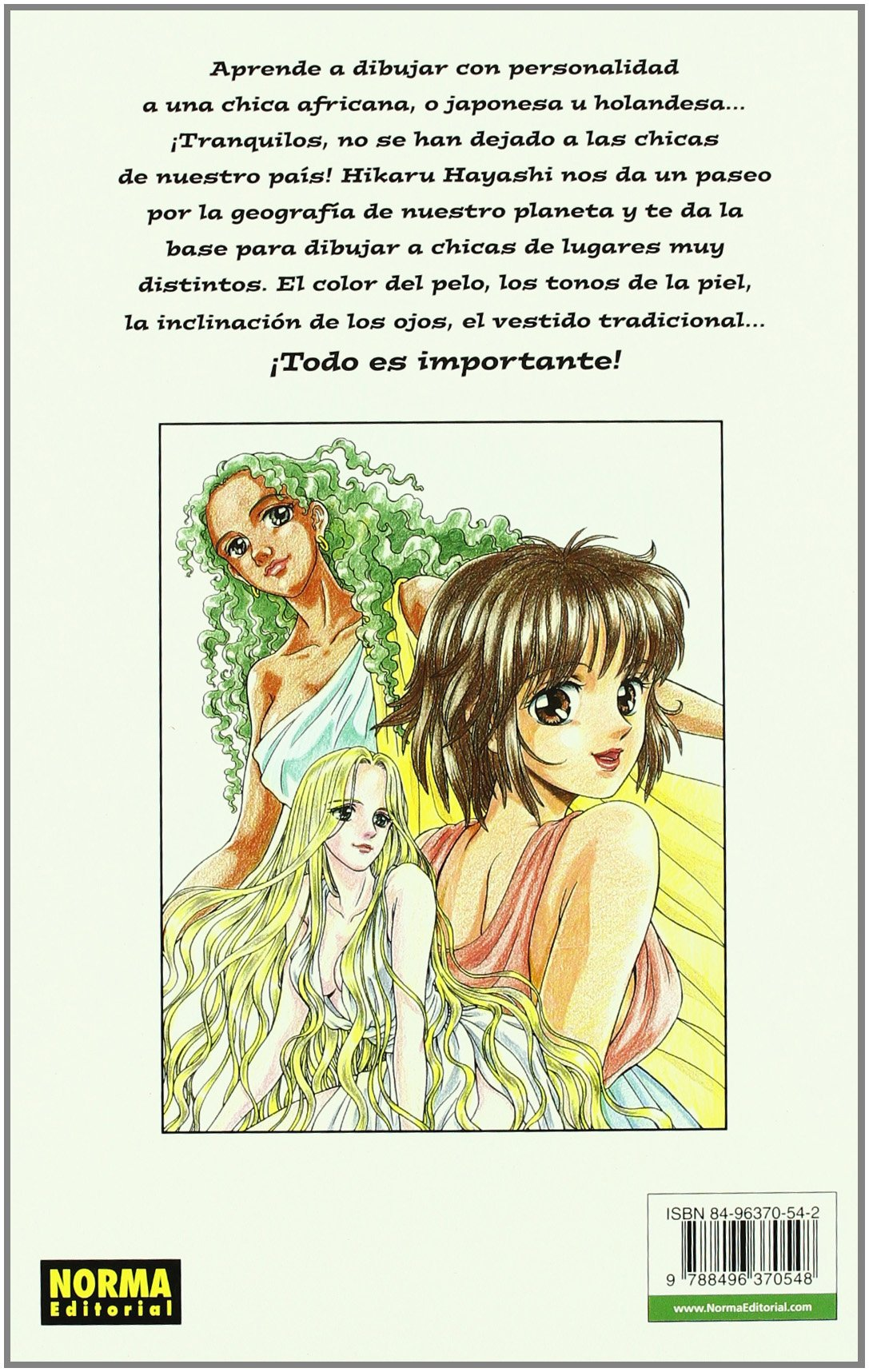 Amazon.com: Como Dibujar Manga 14 Chicas Del Mundo / How to Draw Manga 14 Girls From World (Spanish Edition) (9788496370548): Hikaru Hayashi: Books