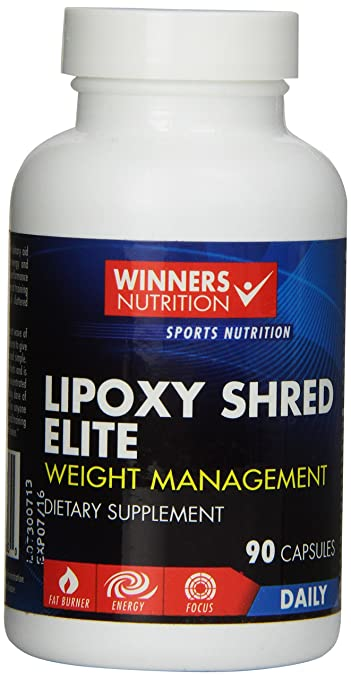 Lipoxy Shred Elite Best Over The Counter Otc Thermogenic Supplements That Work Fast