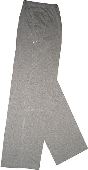 Nike Woven Pant. Pantalón ligero de entrenamiento. Pierna abierta. De alta calidad y suave material de algodón 100%. Dri-Fit. Tamaño grande: Amazon.es: Deportes y aire libre