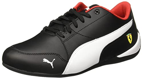 1974e67d255 Puma Unisex's Sf Drift Cat 7 Jr Black Sneakers-6 UK/India (39 EU ...