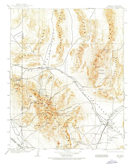 Amazon.com : YellowMaps Las Vegas NV topo map, 1:250000 ...