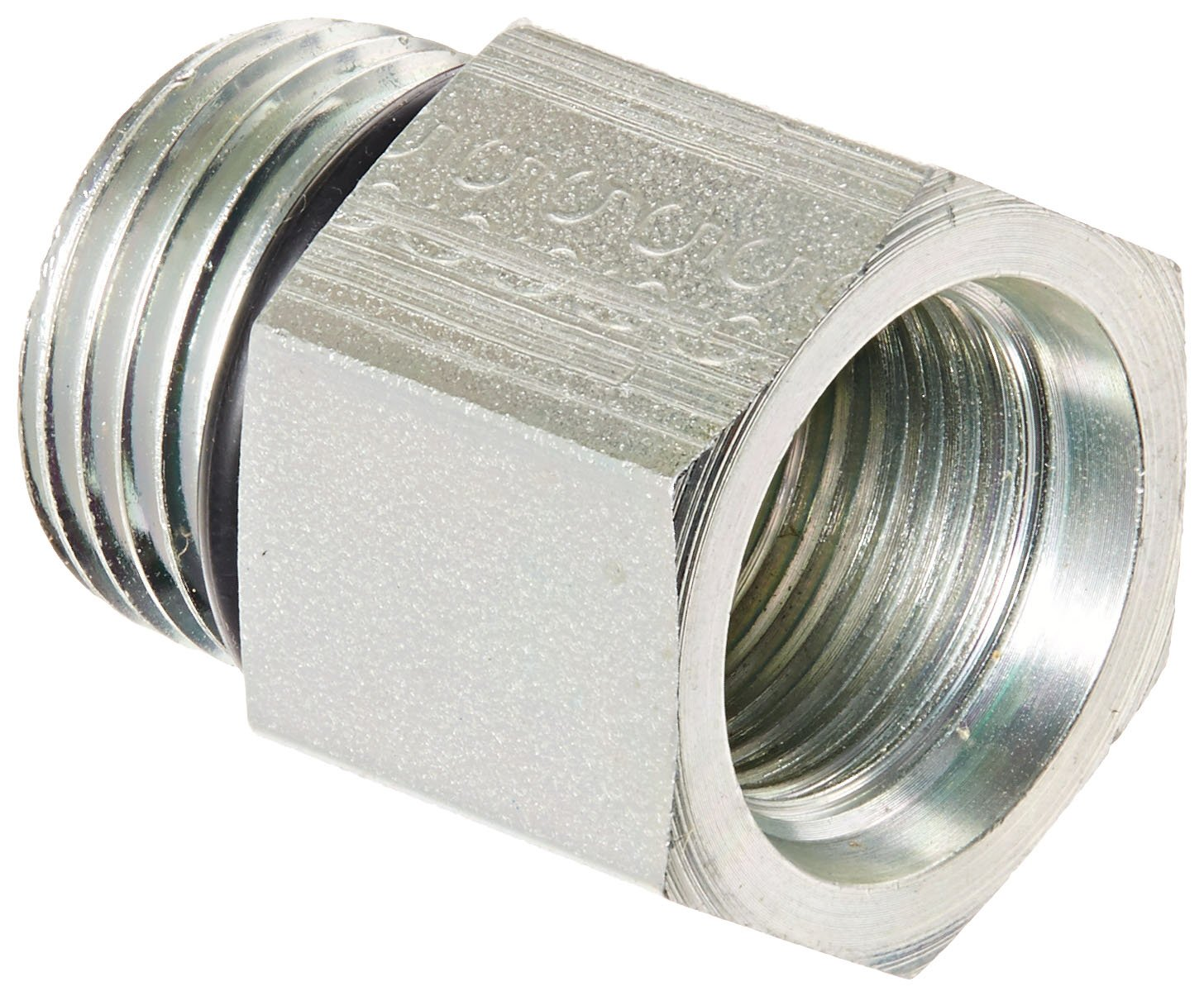 Aeroquip Fitting Hose End AC Refrig Straight 10AN 10AN Female O-Ring Stl FCE1714