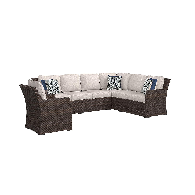 Amazoncom Ashley Furniture Signature Design Salceda Outdoor 3