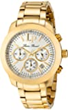 Lucien Piccard Women's LP-12937-YG-22S Belle Etoile Gold-Tone Stainless Steel Watch