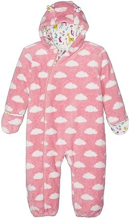 8fd39aed6 Kite Baby Girls 0-24m Cloud Fleece All-In-One Coat