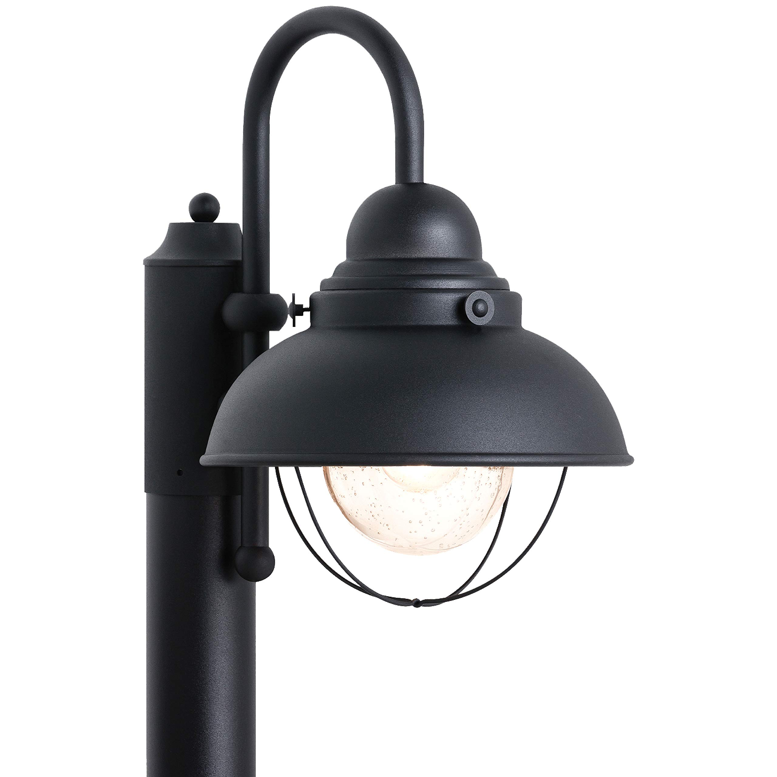 Sea Gull Lighting 8269-12 Sebring One-Light Outdoor Post Lantern Outside Fixture